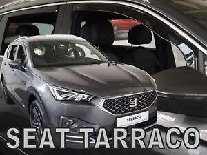 HEKO TINTED WIND DEFLECTORS for SEAT TARRACO 2019-up 4pc