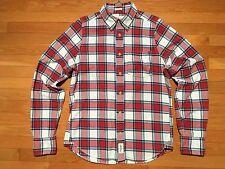 Abercrombie & Fitch Men's Flannel Shirt, Size Medium, Muscle Fit - EUC - O25DQ12