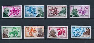 LO10168 Rwanda imperf Franklin D. Roosevelt flowers fine lot MNH