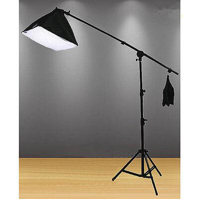 675W Photography Photo Studio Softbox Lighting Soft box Light Boom Arm Stand Kit
