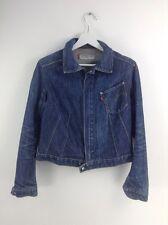 Girls levi engineered jeans blue denim jacket size S stock No.R32