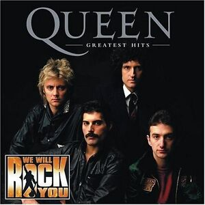 Queen-Greatest-Hits-We-Will-Rock-You-Edition-New-CD-Bonus-Tracks-Rmst-Spe