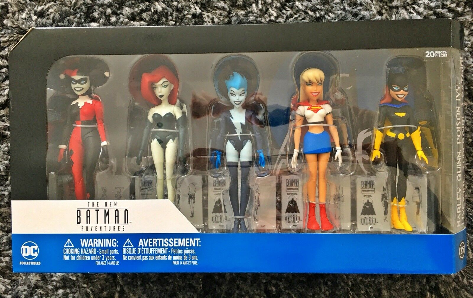 Dc Collectibles New Batman Adventures Girls Night Out Action Figure Set Rare