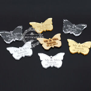 Personalised-Engraved-Mr-amp-Mrs-Butterfly-Wedding-Table-Centerpieces-Decor-Favour