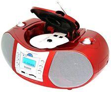 Boytone BT-6R Boombox CD Player USB/SD/MMC Slot FM Radio Auxiliary-in Headphone