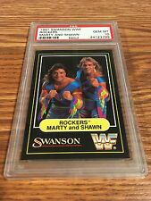 1991 Swanson WWF The Rockers PSA 10 Wrestling Card WWE AWA NWA Shawn Michaels