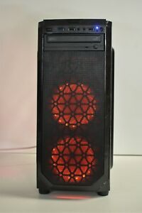 RGB-GAMING-PC-Quad-i7-2600-16-GB-DDR3-New-1TB-HDD-6-GB-GTX-1060-Wndows-10