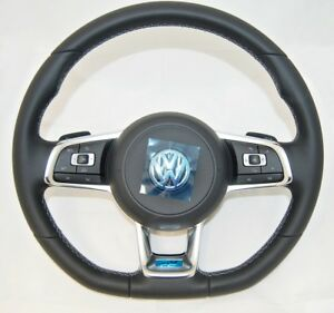 OEM-VW-ARTEON-GOLF-PASSAT-TIGUAN-COMPLETE-MULTIFUNCTION-R-LINE-STEERING-WHEEL