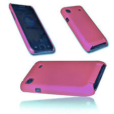 HARD BACK HANDY COVER CASE HÜLLE  in PINK für SAMSUNG i9000 Galaxy S