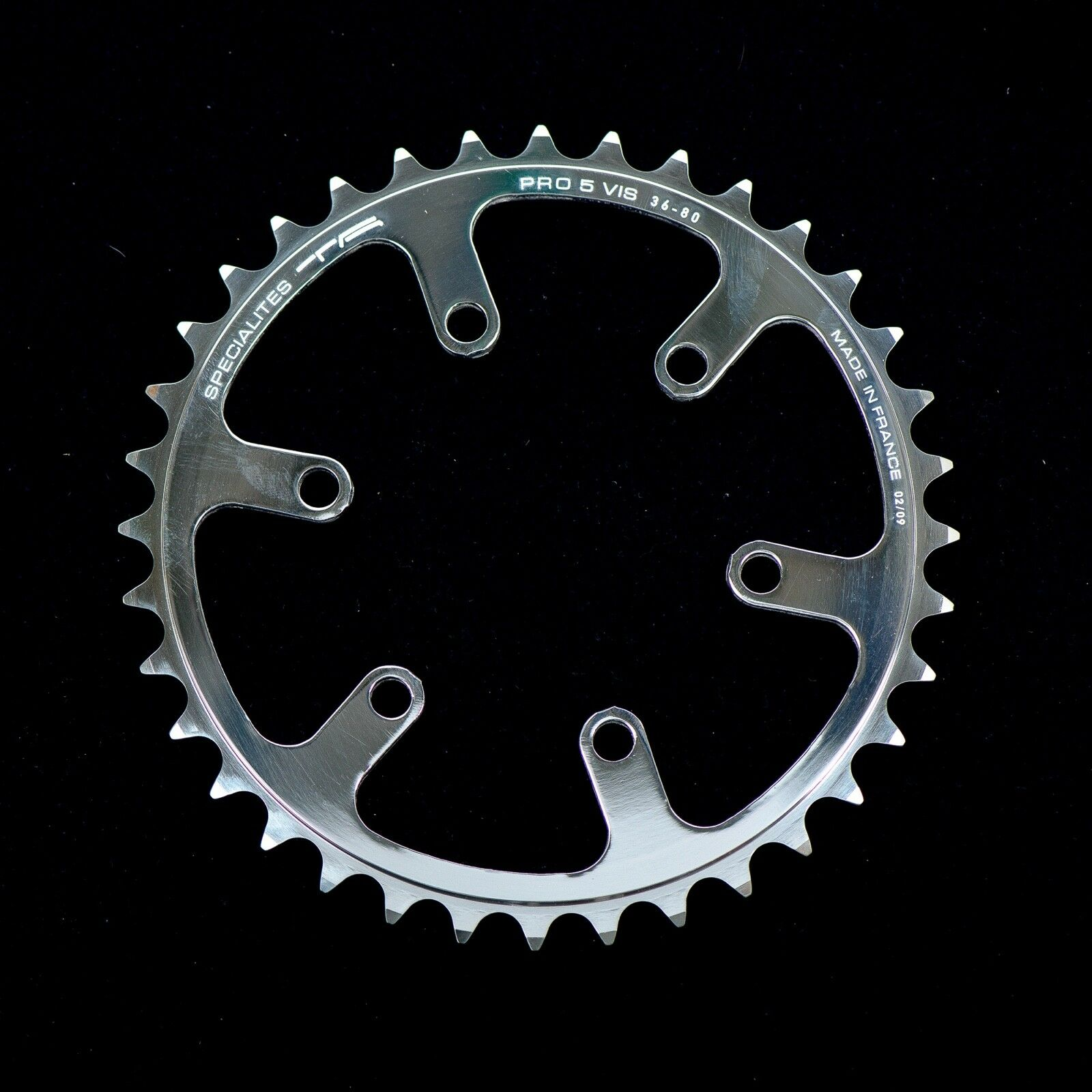 Specialites TA Cyclo-Touriste Inner Chainring 38 T BCD 80