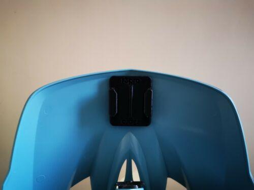 Under Visor GoPro Style Mount for Troy Lee Designs D3 Helmets