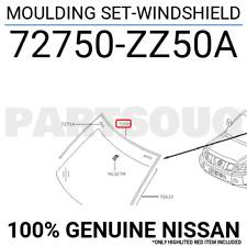 72750-ZZ50A Nissan Moulding set-windshield 72750ZZ50A New Genuine OEM Part