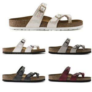 Birkenstock-Mayari-Women-039-s-Cross-Strap-Summer-Sandals-Narrow-Fit