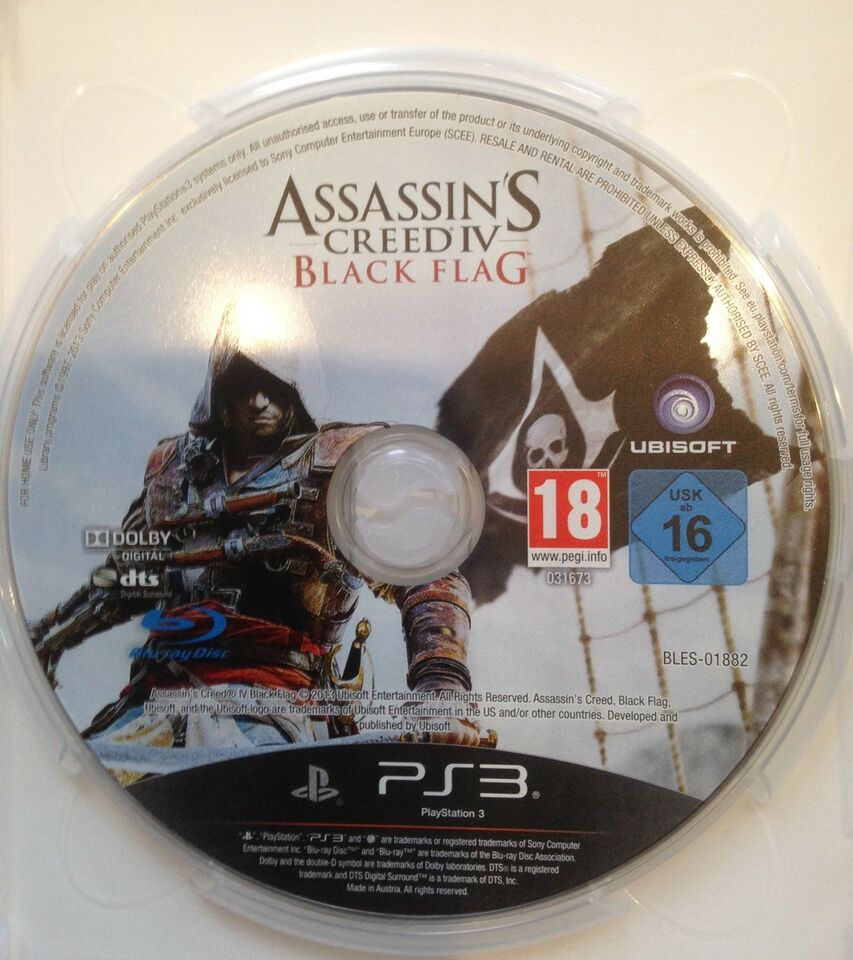 ASSASSIN'S CREED IV BLACK FLAG, PS3, adventure