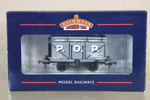 BACHMANN-37-180A-POP-LONDON-7-PLANK-COKE-WAGON-215-MINT-BOXED-ny