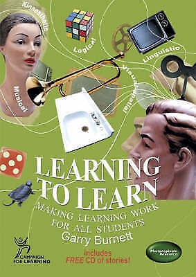 1 of 1 - Learning to Learn: Making Learning Work for All Students 9781899836789, Burnett