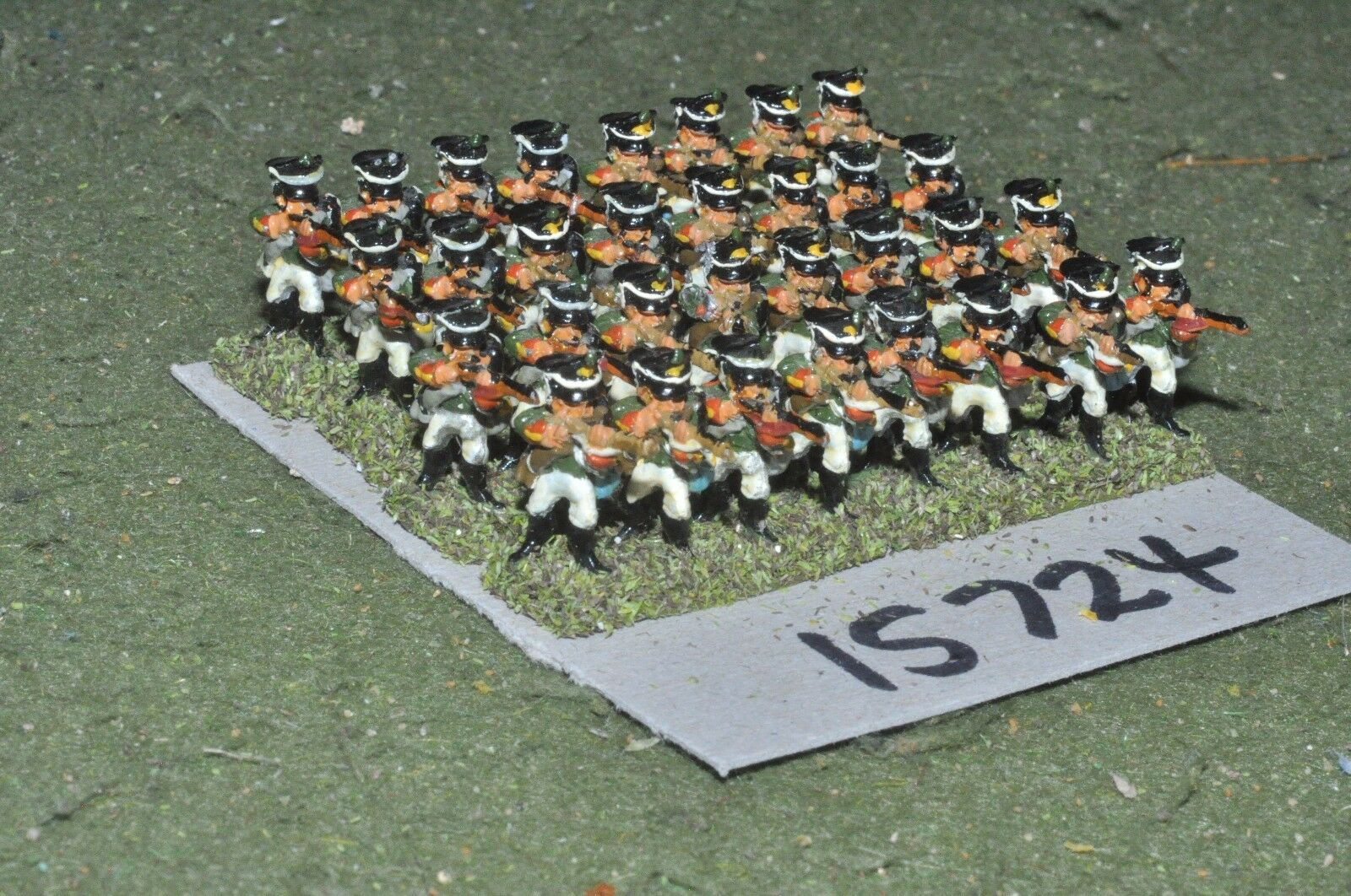 15mm napoleonic   russian - infantry 32 figs - inf (15724)