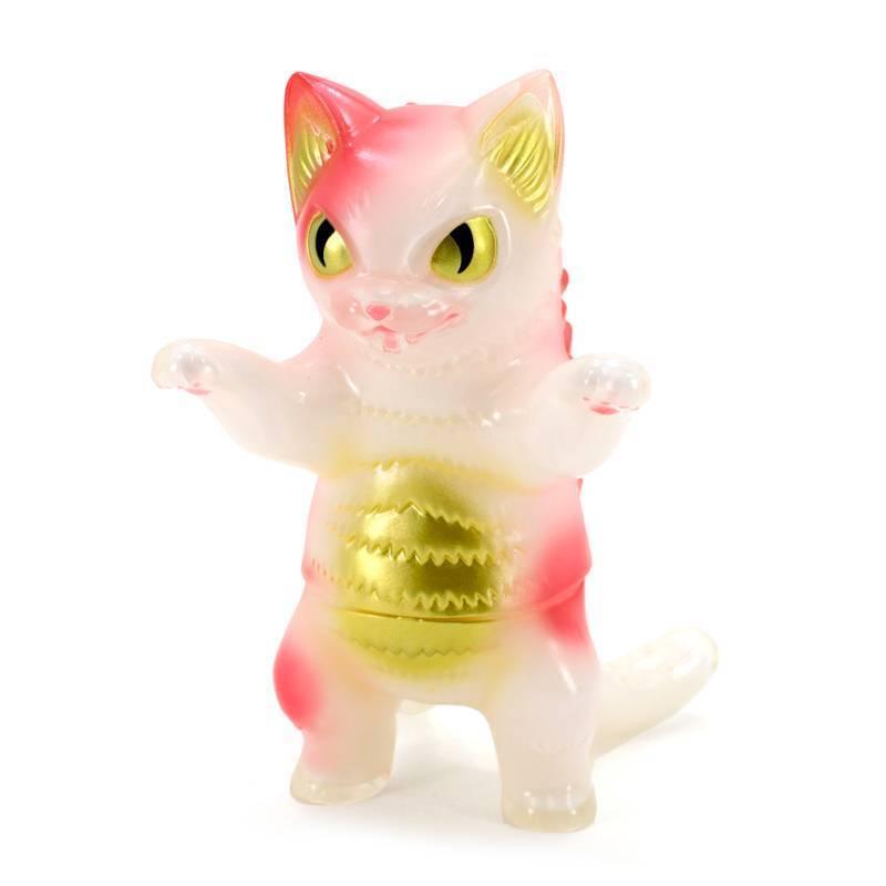 Konatsuya Konatsu Negora Strawberry Ice - Vinyl Figure Kaiju Sofubi Sofvi