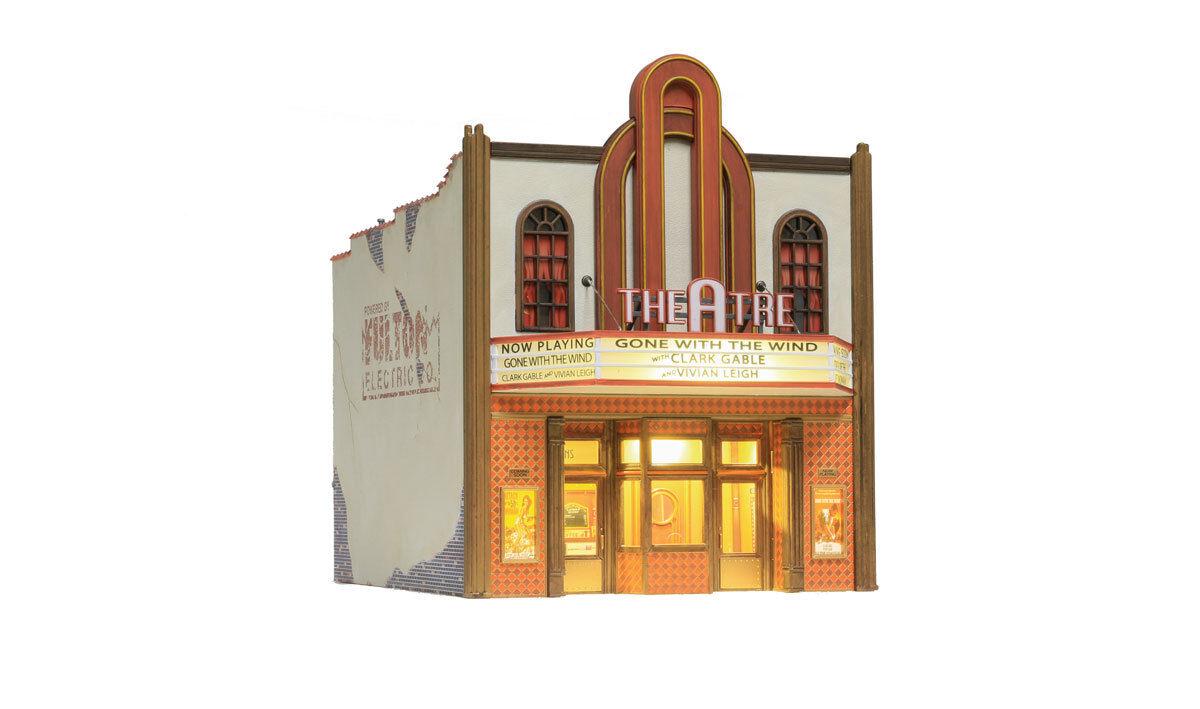 O Woodland Scenics construido 5854  Teatro  Nuevo en Caja