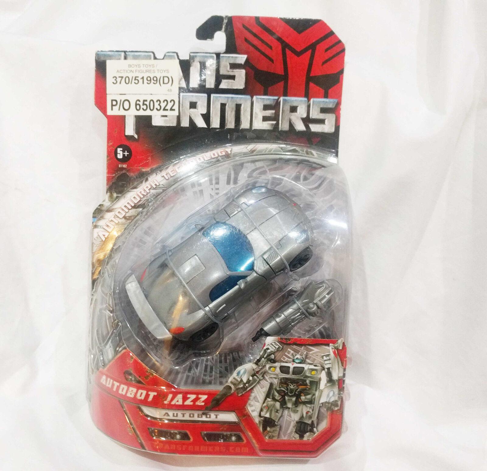 Jazz Transformers Movie Autobot 5  Action Figure 2007 Hasbro