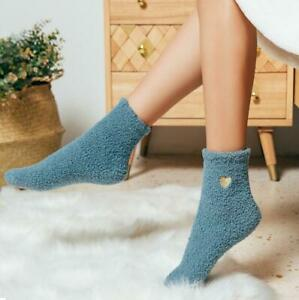Winter-Women-Fluffy-Bed-Socks-Ladies-Soft-Warm-Lounge-Slipper-Fleece-Sock