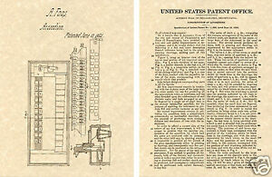 1840 Mariners Compass US PATENT Art Print READY TO FRAME Vintage Marine Surveyor