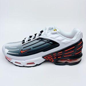 Details about Nike Air Max Plus 3 III Team Mens 7.5 Women Size 9 Orange  White Black CK6715-101