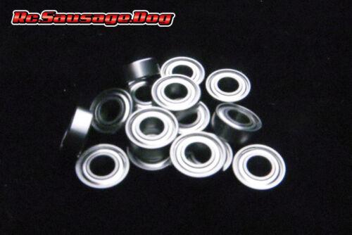 18pcs Metal Ball Bearing Set for Tamiya WR02//58242//58556//58531//58512 sd