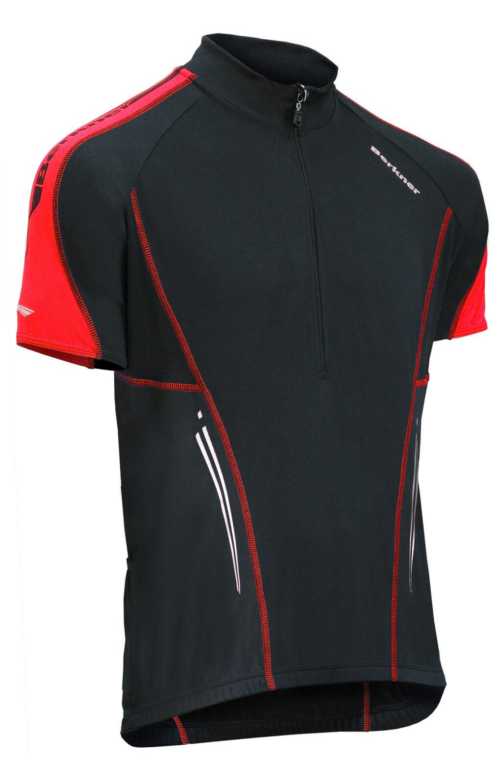 Biketrikot, Bikeshirt, Fahrradtrikot Berkner NATHAN MTB-Shirt bis 5 XL Übergröße