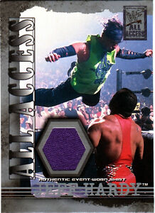 WWE-Jeff-Hardy-2002-Fleer-All-Access-Authentic-Event-Worn-Purple-Shirt-Card-WWF