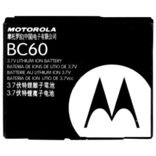 Compatible batterie BC-60 pour MOTOROLA L2 L6 L7 RAZR V3x