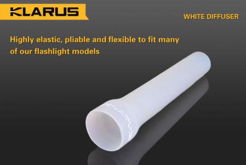 XT10 KDF-1 Klarus Diffuser Flashlight Attachment for XT12 WHITE ST11 XT11