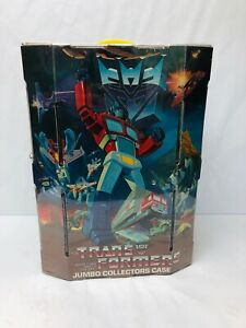 Transformers-Jumbo-Collectors-Case-Vintage-G1-1980s-Tara-Toy-Collection-Storage