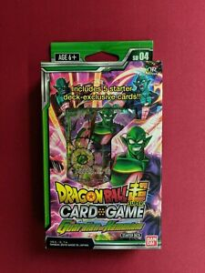 Dragon Ball Super Card Game Guardian of Namekians Starter Deck SD04 New Sealed