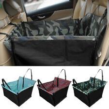 Asiento Individual Cubierta Impermeable de perro protector de asiento de cuero para autos SUV Hamaca Mat