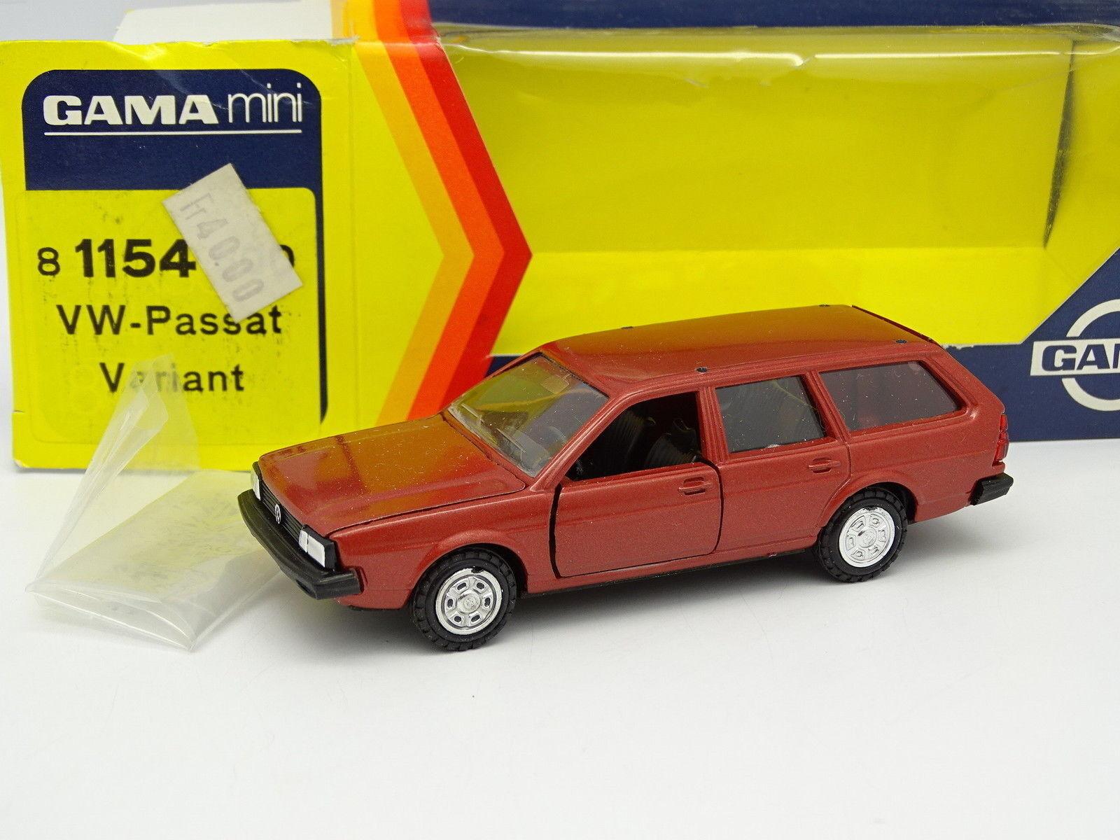 Gama 1 43 - VW Passat Variante Break red