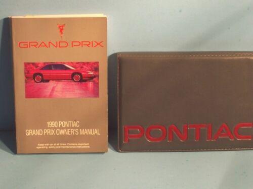 90 1990 Pontiac Grand Prix owners manual