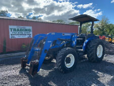 2006 New Holland Tn95a 4x4 95hp Utility Tractor With Loader Only 1500hrs