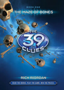 The-39-clues-The-maze-of-bones-by-Rick-Riordan-Hardback-Fast-and-FREE-P-amp-P