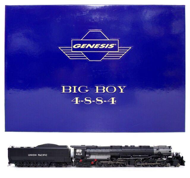 Athearn Genesis HO Union Pacific UP 4-8-8-4 Steam Locomotive Big Boy Sound 4014