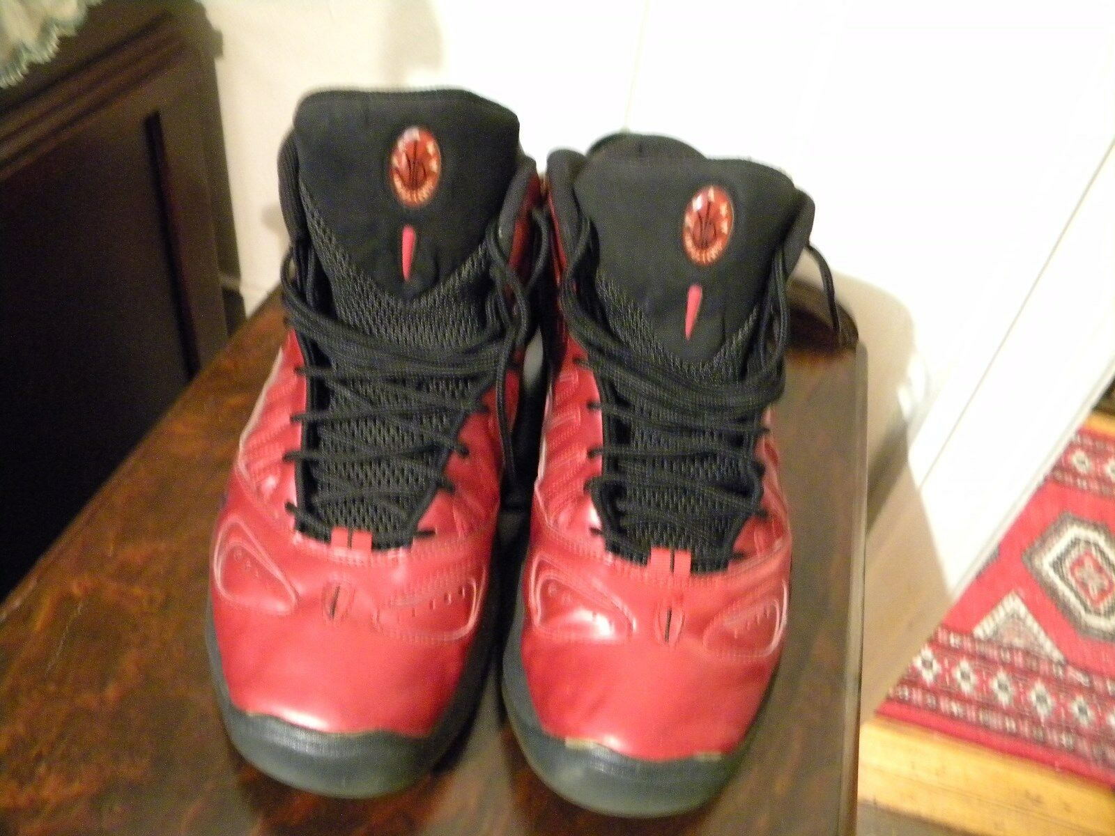 MENS RETRO NIKE AIR MAX UPTEMPO 97 SIZE 12 RED 399207 600 FROM 2010
