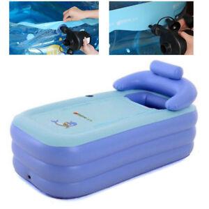 Pvc adulta vasca da bagno pieghevole vasca gonfiabile - Vasca da bagno gonfiabile ...