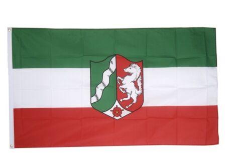 Germania Renania settentrionale Vestfalia hissflagge Westfälische bandiere bandiere 150x250cm