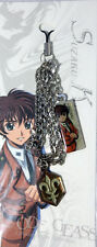Code Geass Suzaku Uniform Metal Charm Phone Strap Anime Manga Licensed NEW