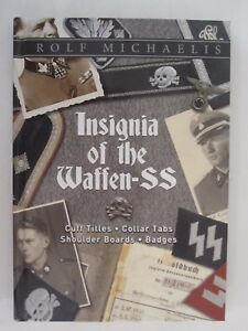 Insignia-of-the-Waffen-SS-Cuff-Titles-Collar-Tabs-Shoulder-Boards-amp-Badges