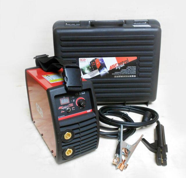 GCE ARCONTROL 200 AMP INVERTER DC MMA ARC WELDING MACHINE 240V WELDER