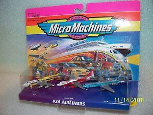 AIRLINERS-Micro-Machines-Set-NIP-747-Airbus-310-DC-9