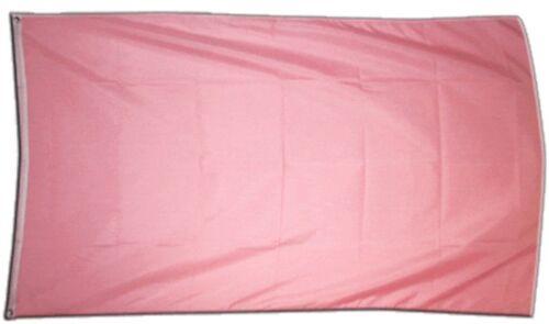 Fahne Einfarbig Pink Flagge pinke Hissflagge 90x150cm