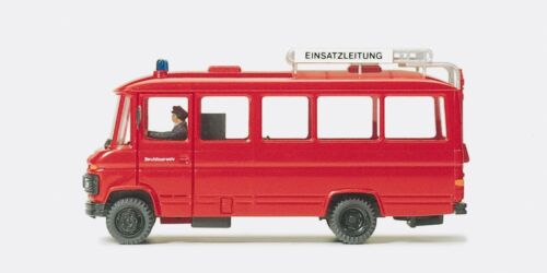 Preiser 35011 h0 einsatzleitwagen MB 0 309 F
