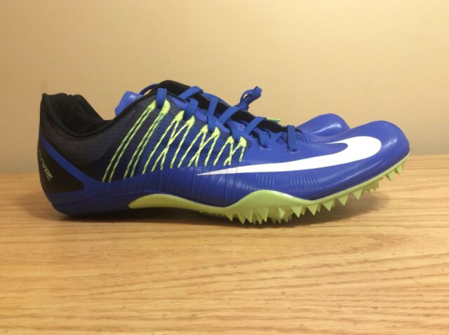 best sneakers 4dab2 065cf Nike Zoom Celar 5 Track and Field Sprint Spikes Blue 629226-413 Blue Size 14